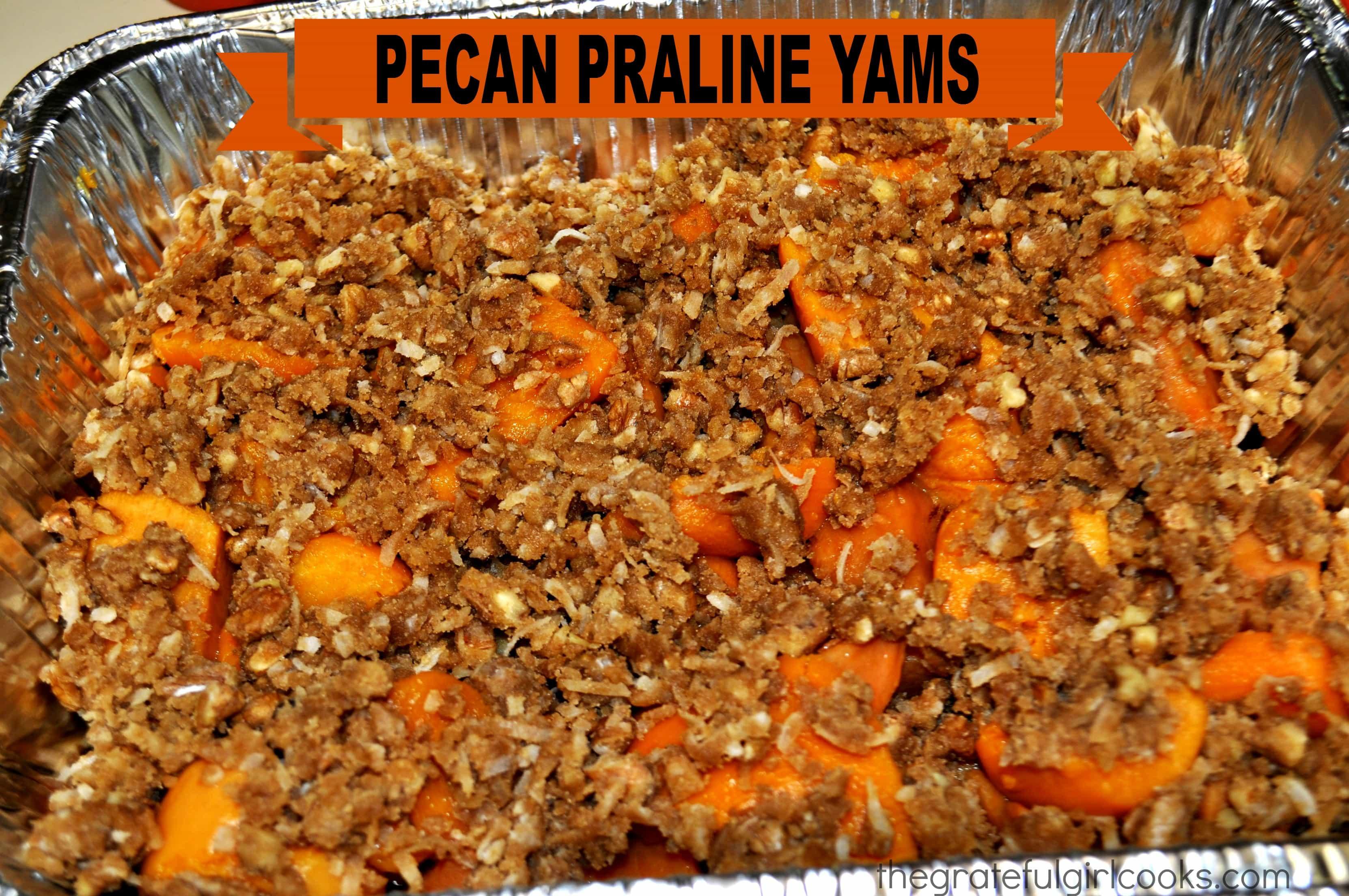 Pecan Praline Yams The Grateful Girl Cooks