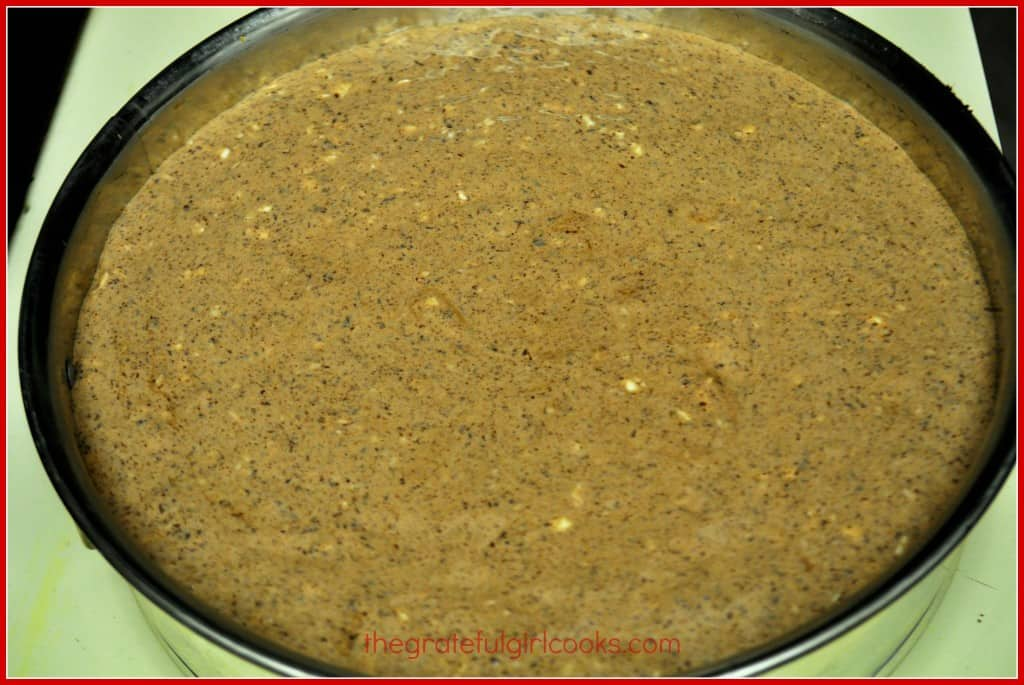 Chocolate Fudge Truffle Cheesecake / The Grateful Girl Cooks!