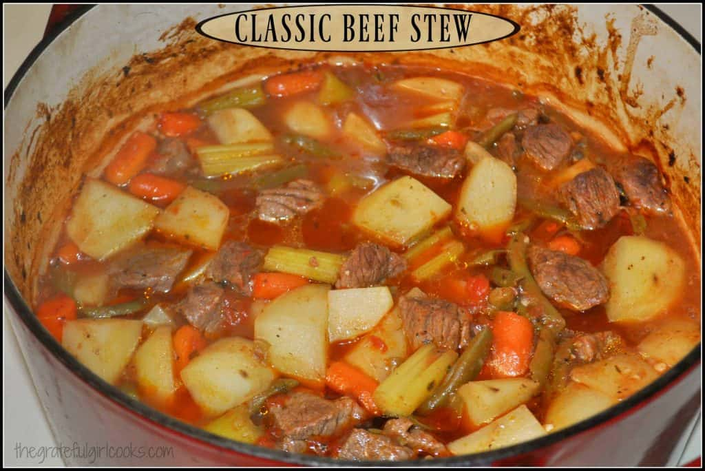how to make a great beef stew