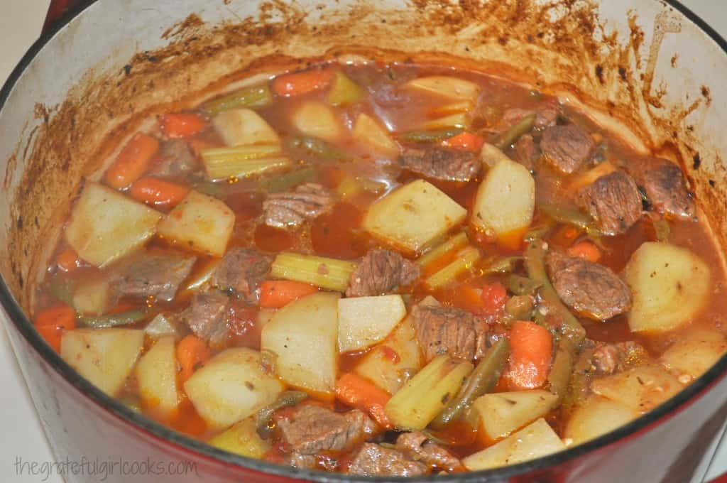 Classic Beef Stew / The Grateful Girl Cooks!