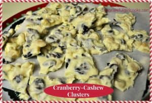 Cranberry-Cashew Clusters