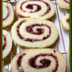 Cranberry-Orange Pinwheel Cookies