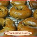 Gingerbread Bagels