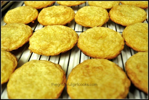 Snickerdoodles / The Grateful Girl Cooks!