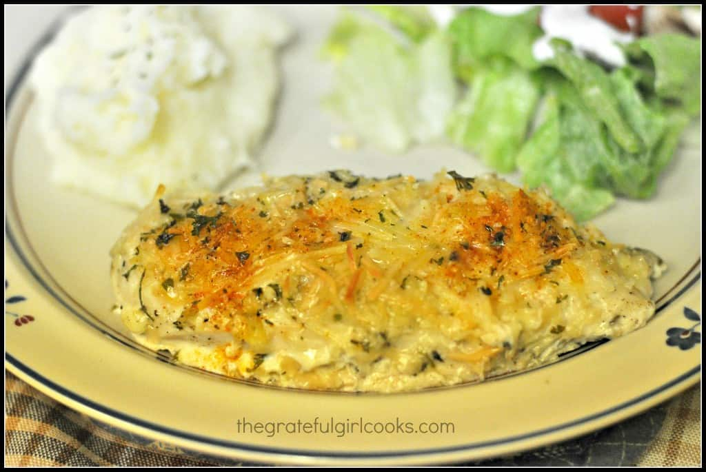 Baked Parmesan Chicken / The Grateful Girl Cooks!