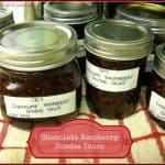 Chocolate Raspberry Sundae Sauce