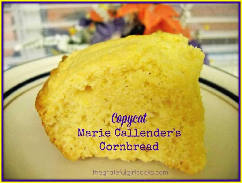 Copycat Marie Callender's Cornbread / The Grateful Girl Cooks!