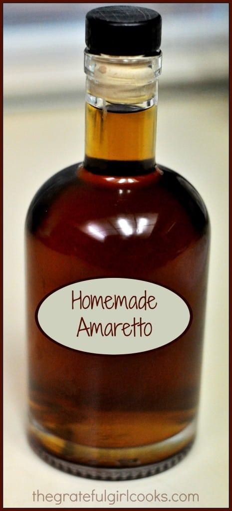 Homemade Amaretto / The Grateful Girl Cooks!