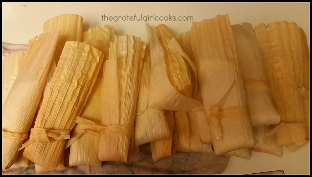 Pork Tamales / The Grateful Girl Cooks!