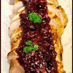 Pork Tenderloin with Cranberry-Raspberry Sauce