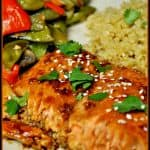 Sweet Ginger Teriyaki Salmon