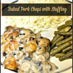 Baked Pork Chops with Stuffing