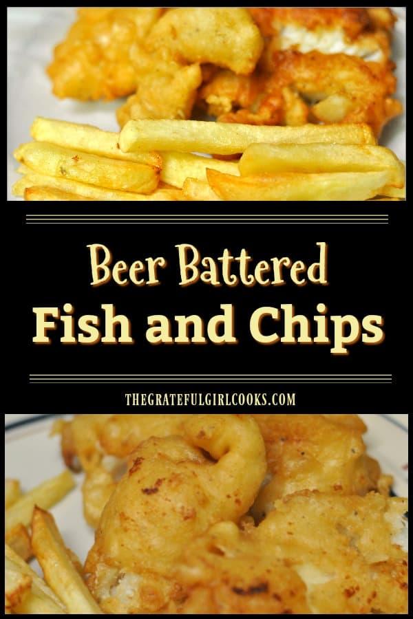 Vous ne pouvez pas aller en Angleterre? Pourquoi ne pas faire votre propre poisson pané à la bière croustillante et fait maison