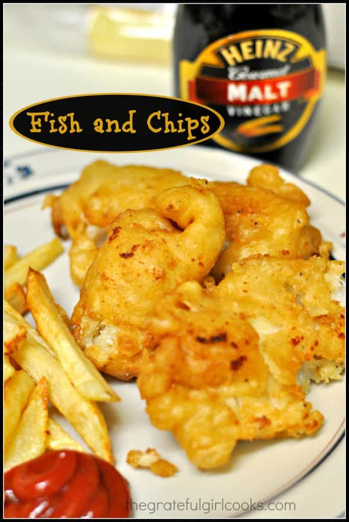Beer Battered Fish and Chips / The Grateful Girl Cooks!