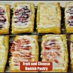 Fruit and Cheese Danish Pastry