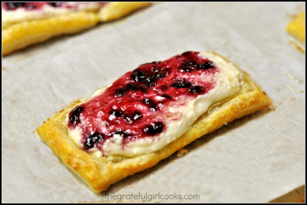 Fruit and Cheese Danish Pastry / The Grateful Girl Cooks!