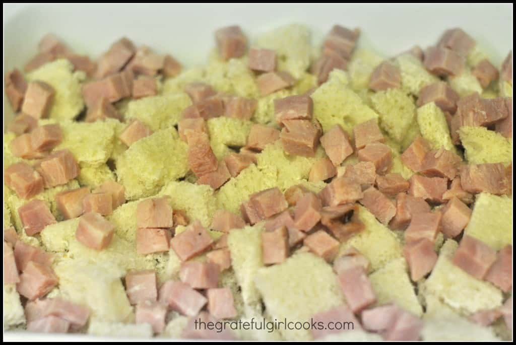 Ham n' Cheese Breakfast Souffle / The Grateful Girl Cooks!
