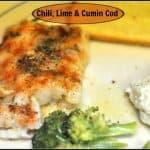 Chili, Lime & Cumin Cod