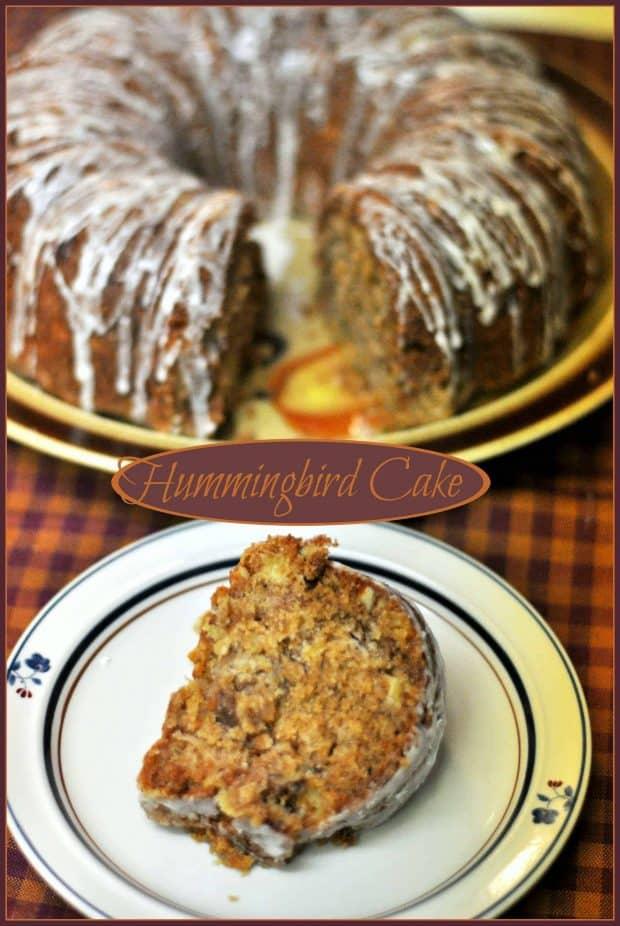 Hummingbird Cake / The Grateful Girl Cooks!