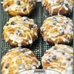 Jumbo Chocolate Chip-Banana Muffins