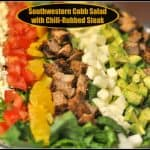 Southwestern Cobb Salad with Chili-Rubbed Steak