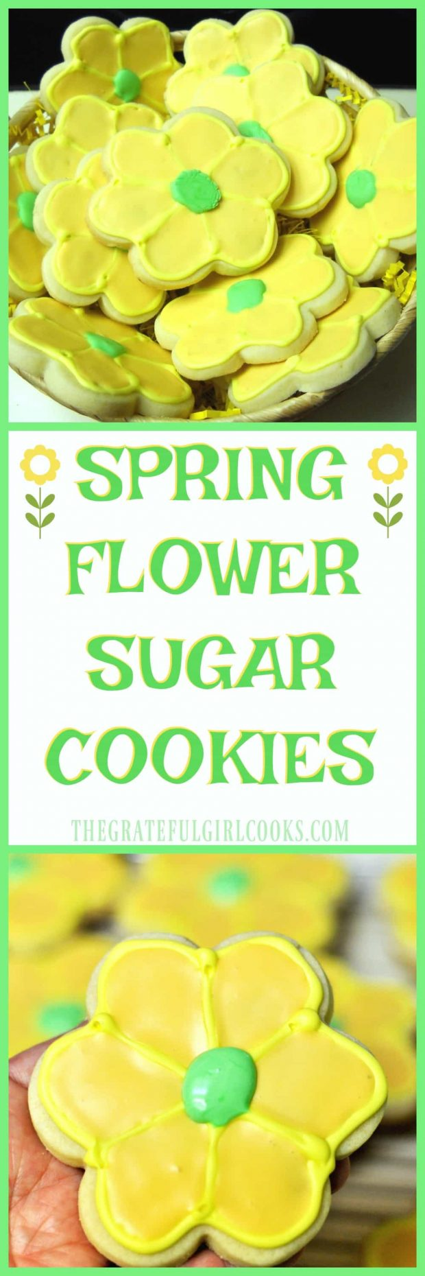 Long pin for Spring Flower Sugar Cookies