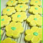 Spring Flower Sugar Cookies