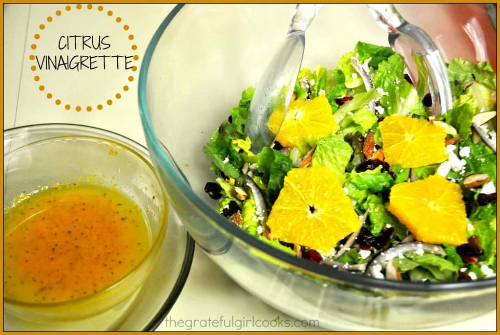 Citrus Vinaigrette / The Grateful Girl Cooks!