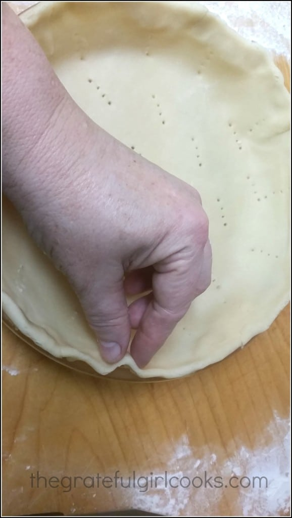 DIY - Mom's Pie Crust! / The Grateful Girl Cooks!