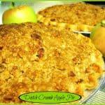 Dutch Crumb Apple Pie