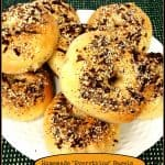 "Homemade ""Everything"" Bagels"
