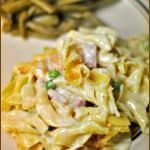 Pasta, Ham and Gruyere Casserole