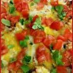 Quinoa Enchilada Casserole (Meatless!)