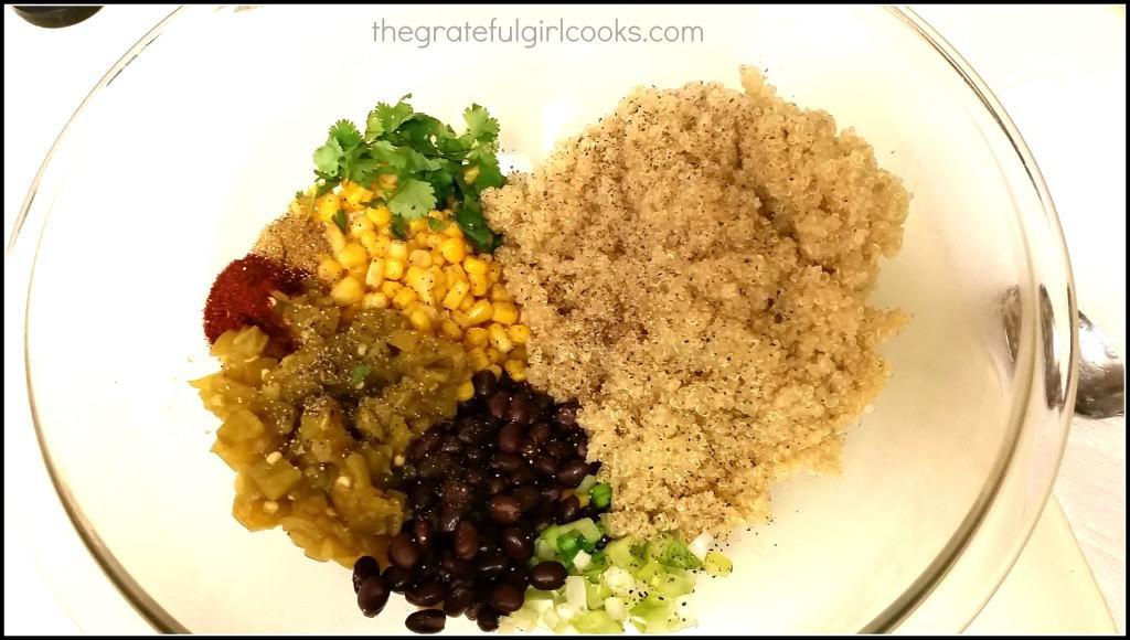 Quinoa Enchilada Casserole (Meatless!) / The Grateful Girl Cooks!
