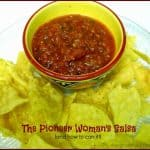 The Pioneer Woman's Salsa (and how to can it!)