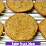 Butter Pecan Crisps