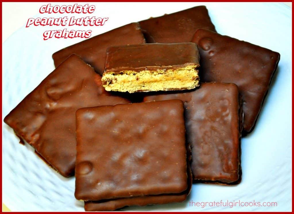 Chocolate Peanut Butter Grahams / The Grateful Girl Cooks!