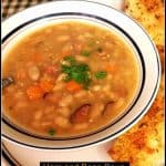 Ham and Bean Soup (and how to CAN it!)