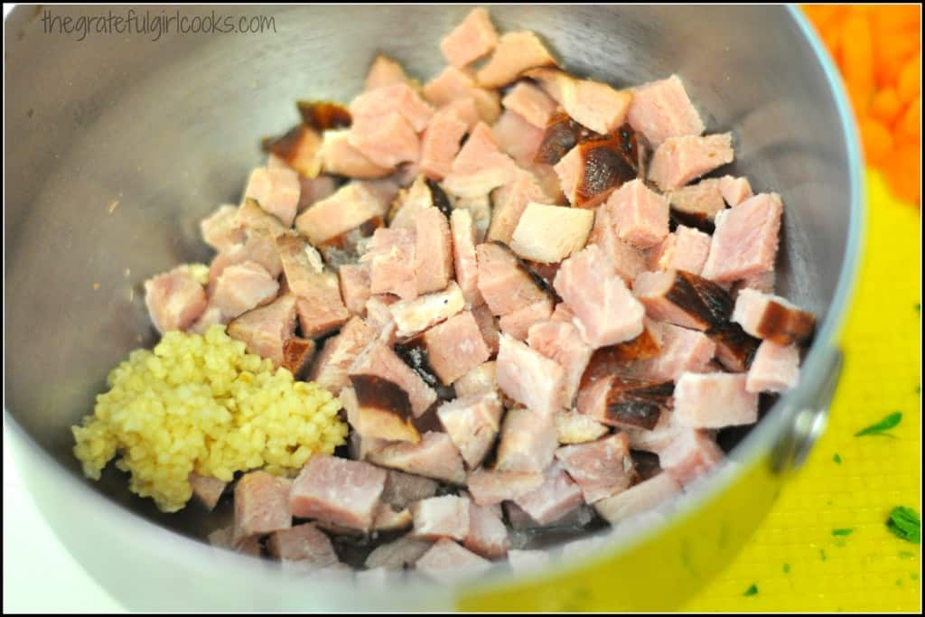 Ham and Bean Soup (and how to CAN it!) / The Grateful Girl Cooks!