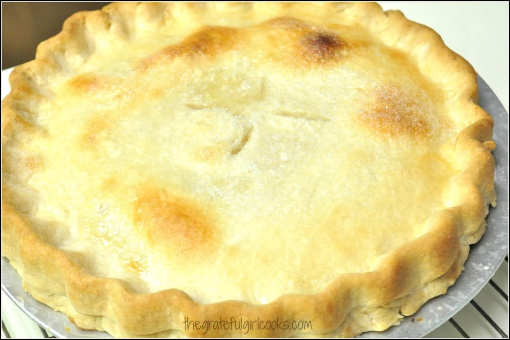 Peach Pie / The Grateful Girl Cooks!