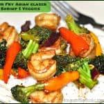 Stir Fry Asian Glazed Shrimp & Veggies