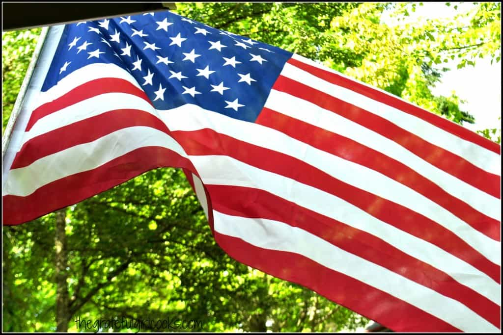 We Pause To Remember... Memorial Day 2015 / The Grateful Girl Cooks!