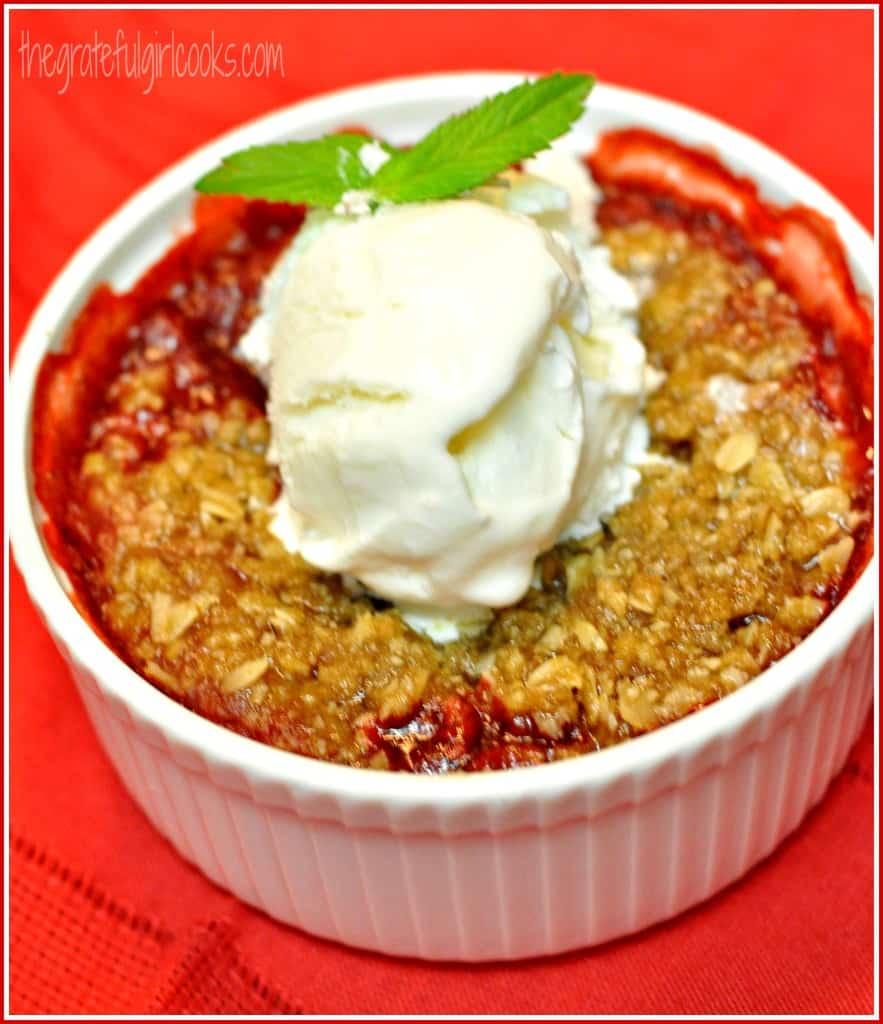 Strawberry Cobbler / The Grateful Girl Cooks!