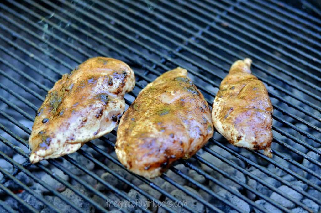 EASY Grilled Chicken With Jerk Seasoning / The Grateful Girl Cooks!