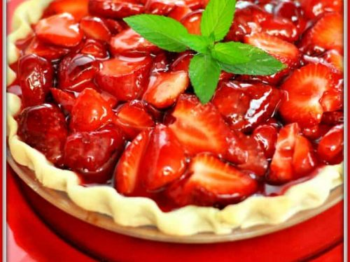 Strawberry Pie An Easy Classic The Grateful Girl Cooks