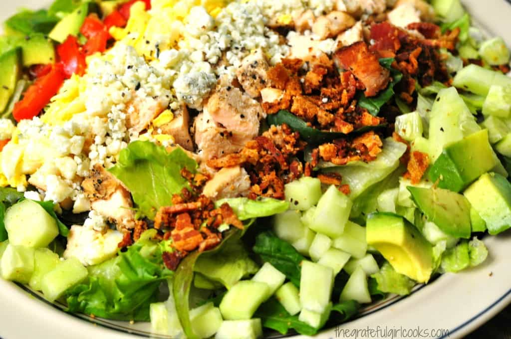 Cobb Salad / The Grateful Girl Cooks!
