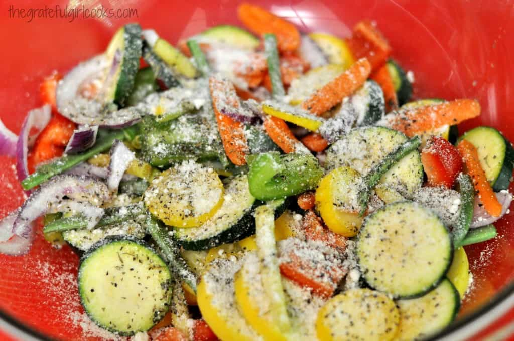 Grilled Summer Veggies / The Grateful Girl Cooks!