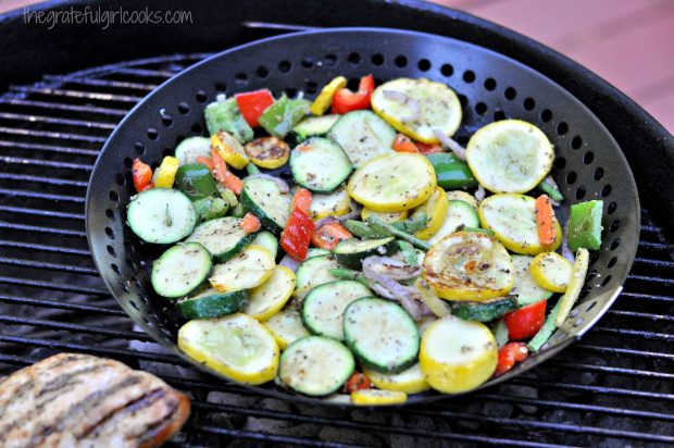 Grilled Summer Veggies / The Grateful Girl Cooks!