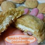 Pumpkin Cheesecake Snickerdoodles