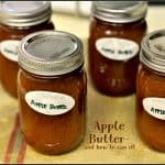 Apple Butter – and how to can it!